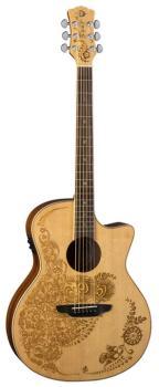 Henna Oasis Acoustic/Electric - Spruce (LU-HEN-O2-SPR)