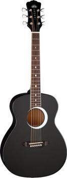 Aurora Borealis 3/4 Guitar Black (LU-AR-BOR-BLK)