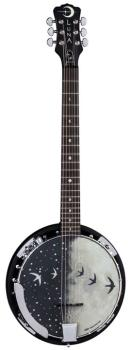 Moonbird Banjo 6-String w/Pickup (LU-BGB-MOON-6E)