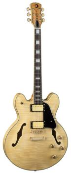 Athena Semi-Hollowbody - Natural (LU-ATH-501-NAT)