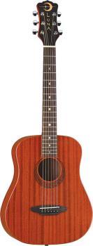 Safari Muse Travel Guitar Mahogany w/bag (LU-SAF-MUS-MAH)