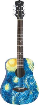 Safari Starry Night Travel Guitar (LU-SAF-STR)