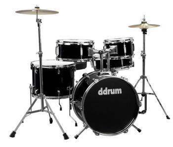 D1 Junior Drum Set 5pc - Midnight Black (DD-D1-MB)