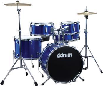 D1 Junior Drum Set 5pc - Police Blue (DD-D1-PB)