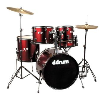 D Series 5 PC. Set Complete Red (DD-D120B-BR)
