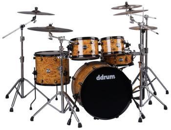 Reflex Series Mappa Burl 5pc drumset (DD-REFLEX-522-MPB)