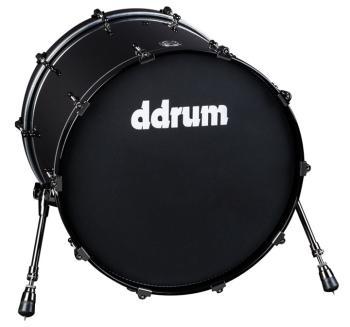 MAX series 14x24 bass drum  Piano Black (DD-MAX-BD-14X24-PB)