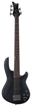 Edge 5 Flame Top - Trans Black Satin (DE-E5-FM-TBKS)