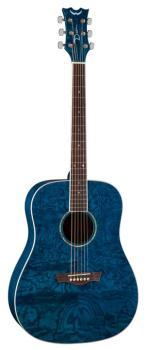 AXS Dread Quilt Ash - Trans Blue (DE-AX-DQA-TBL)