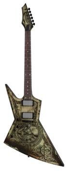 Zero Dave Mustaine Lefty - Deth We Trust (DE-ZERO-TRUST-L)