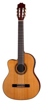 Espana Solid Top Cutaway A/E Lefty (DE-CSCML)