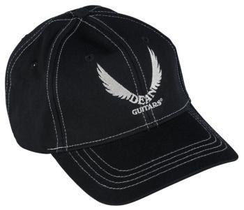 Hat/Cap: Dean White Logo - Black (DE-HAT)
