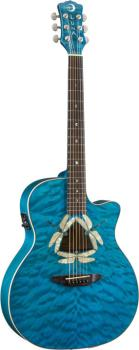 Fauna Dragonfly Quilted Maple Acou/Elec (LU-FAU-DF-QM)