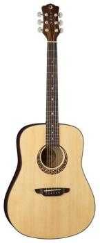 Gypsy Muse Dreadnought w/ hardshell case (LU-GYP-MUS)