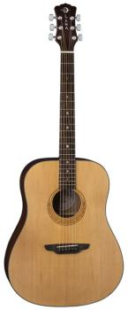 Gypsy Muse Dreadnought Acoustic w gigbag (LU-GYP-MUS-PK)