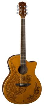 Henna Oasis Acoustic/Electric - Cedar (LU-HEN-O2-CDR)