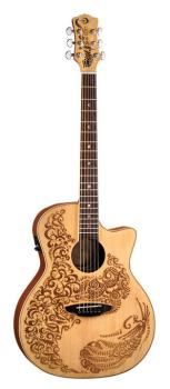 Henna Paradise Acoustic/Electric Spruce (LU-HEN-P2-SPR)