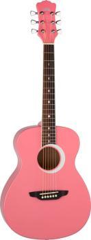 Aurora Borealis 3/4 Guitar Pink (LU-AR-BOR-PNK)