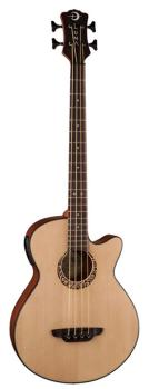 Acoustic Bass 30 inch w/tribal rosette (LU-LAB-30-TRIBAL)