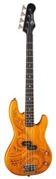 Tattoo Electric Bass 34 Inch Scale (LU-TAT-34)