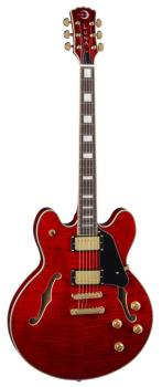 Athena Semi-Hollowbody - Trans Red (LU-ATH-501-RED)