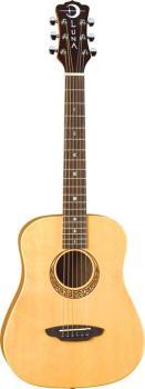 Safari Muse Travel Guitar Spruce w/bag (LU-SAF-MUS-SPR)