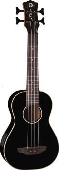 Uke Baritone Bass w/Preamp Classic Black (LU-UKE-BASS-CBK)