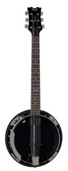 Backwoods 6 Banjo w/Pickup Black Chrome (DE-BW6E-BC)