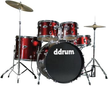 D2 Drum Set 5pc - Blood Red (DD-D2-BR)
