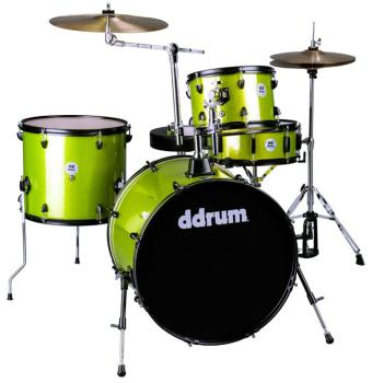 D2 Rock kit Lime Spkl w/ blk hardware (DD-D2R-LIME-SPKL)