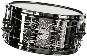Reflex Tattooed Lady 6.5x14 blk En Steel (DD-TATTOOED-LADY)