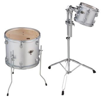 D2 Ad On 8 and 14 Toms Silver (DD-D2-BS-AD1)