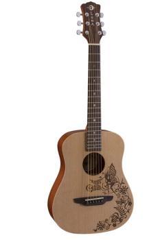 Safari Fantasy Travel Guitar w/Gigbag (LU-SAF-FANTASY)
